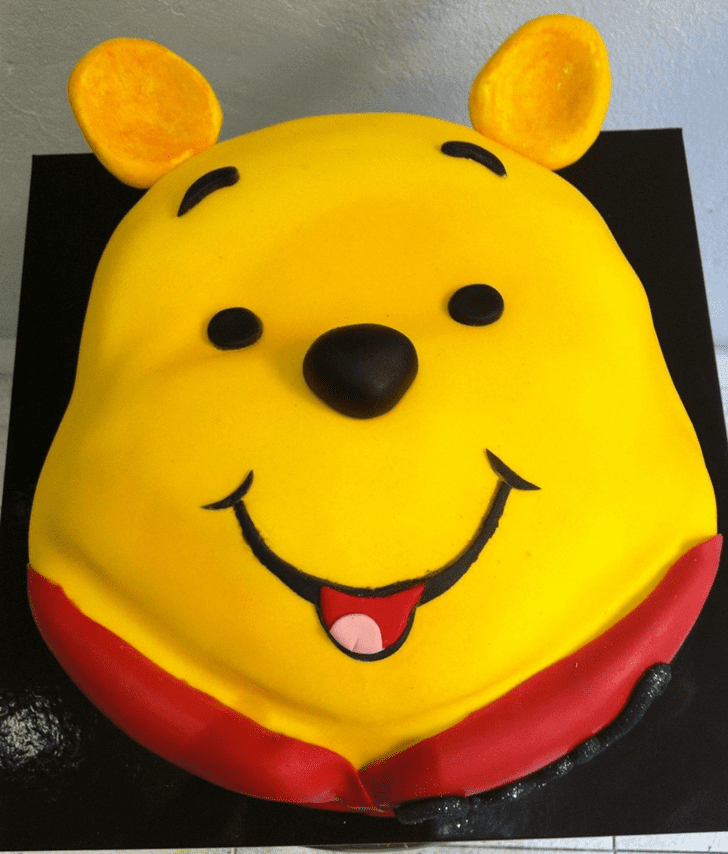 Alluring Winnie the Pooh Cake