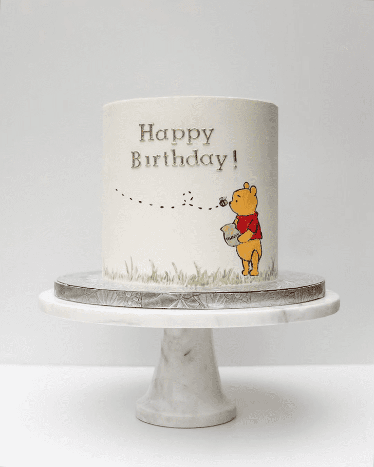 Charming Winnie the Pooh Cake