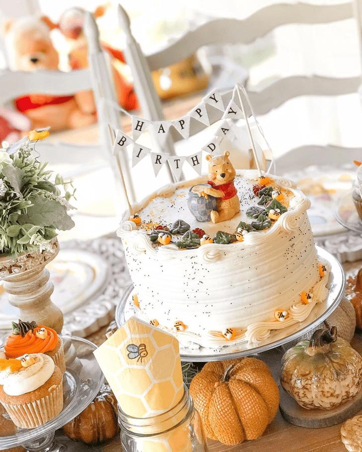 Fair Winnie the Pooh Cake