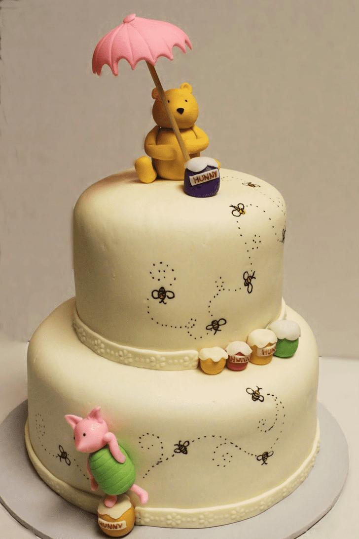 Gorgeous Winnie the Pooh Cake