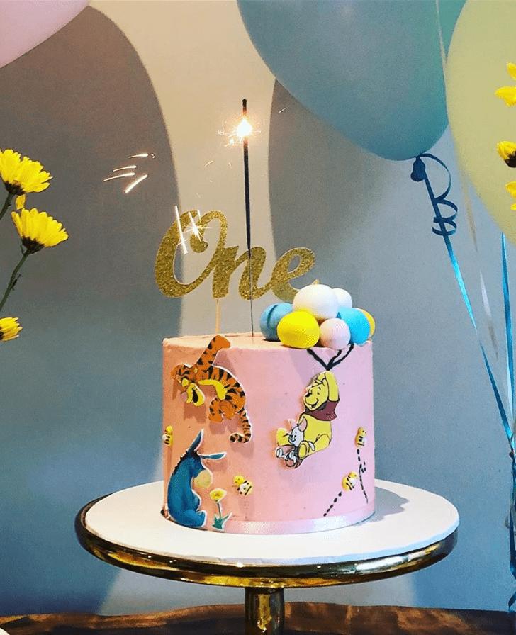 Handsome Winnie the Pooh Cake