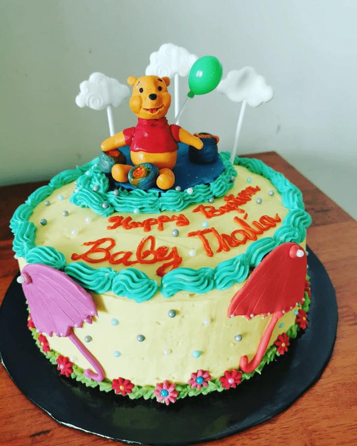 Ideal Winnie the Pooh Cake