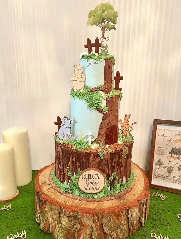 Magnificent Winnie the Pooh Cake