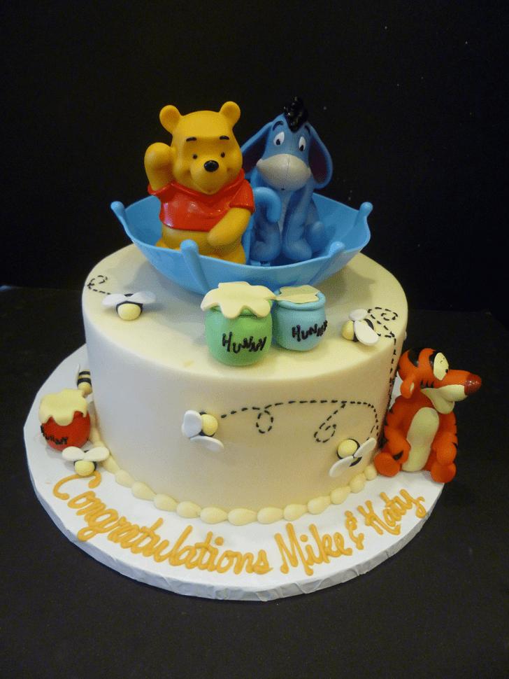 Stunning Winnie the Pooh Cake