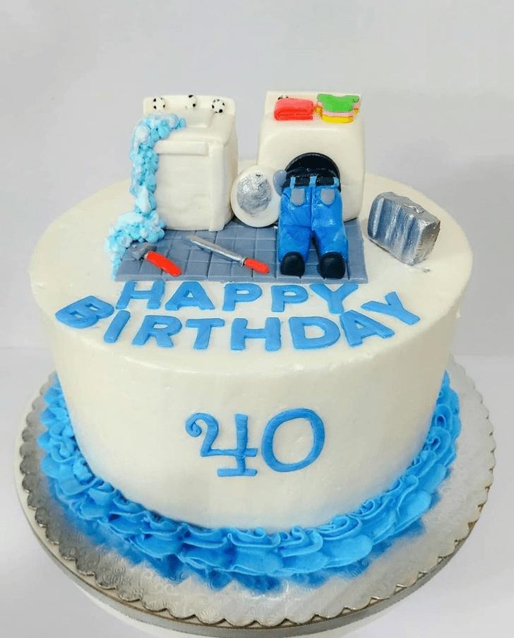 Admirable Winter Cake Design