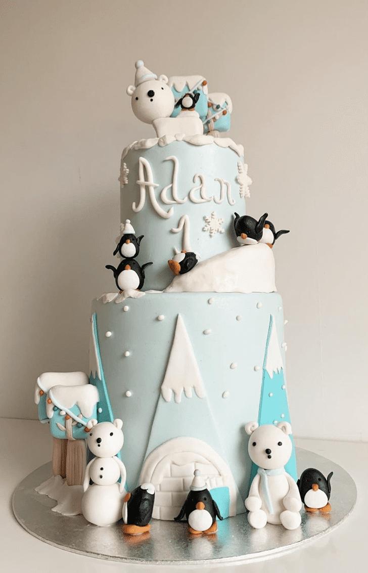 Appealing Winter Cake