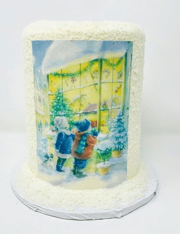 Classy Winter Cake