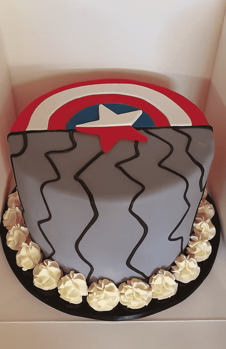 Adorable Winter Soldier Cake