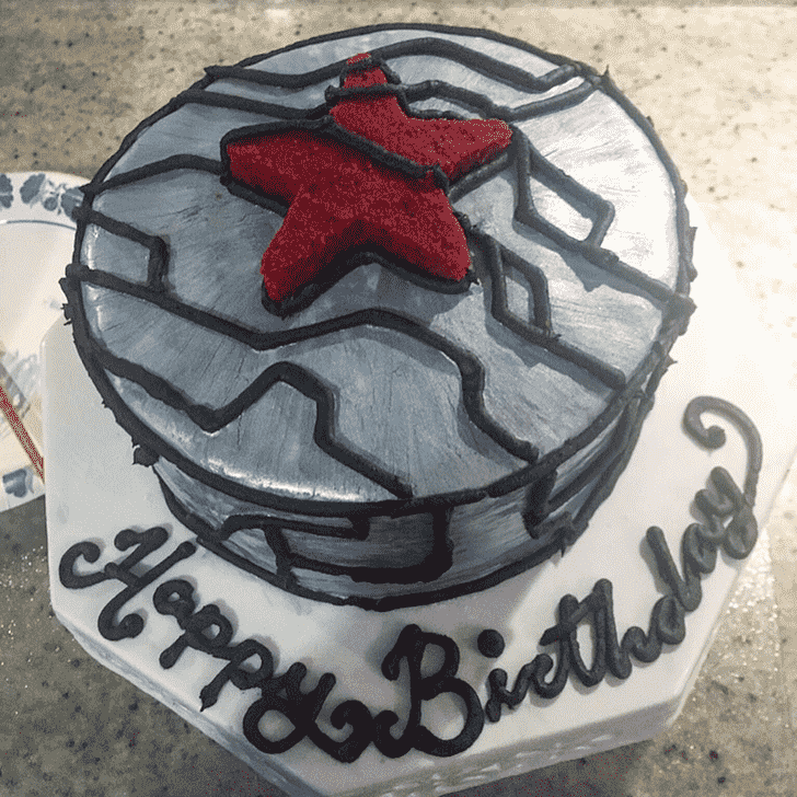 Angelic Winter Soldier Cake