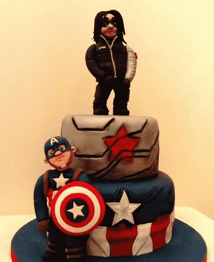 Bewitching Winter Soldier Cake