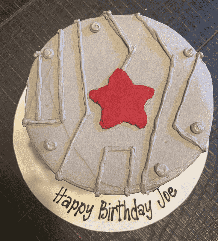 Charming Winter Soldier Cake
