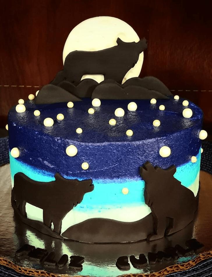Angelic Wolf Cake