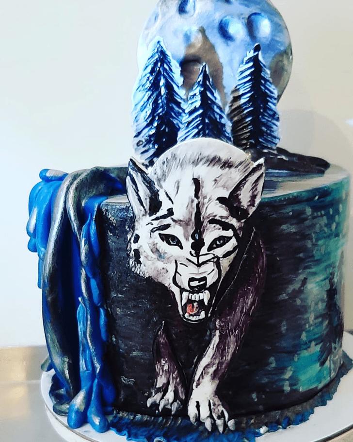 Captivating Wolf Cake