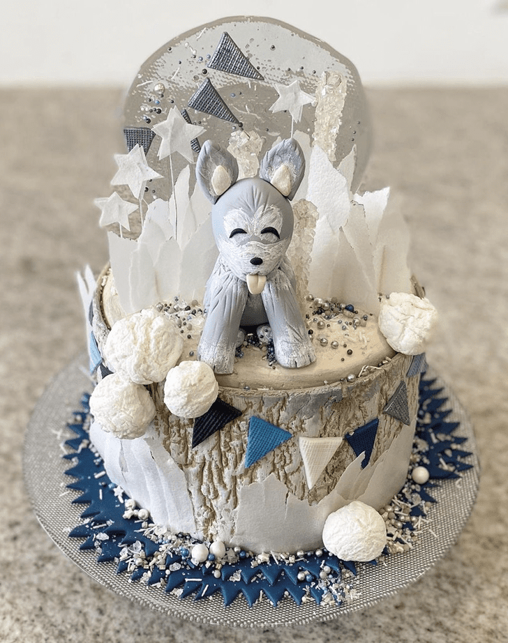 Classy Wolf Cake