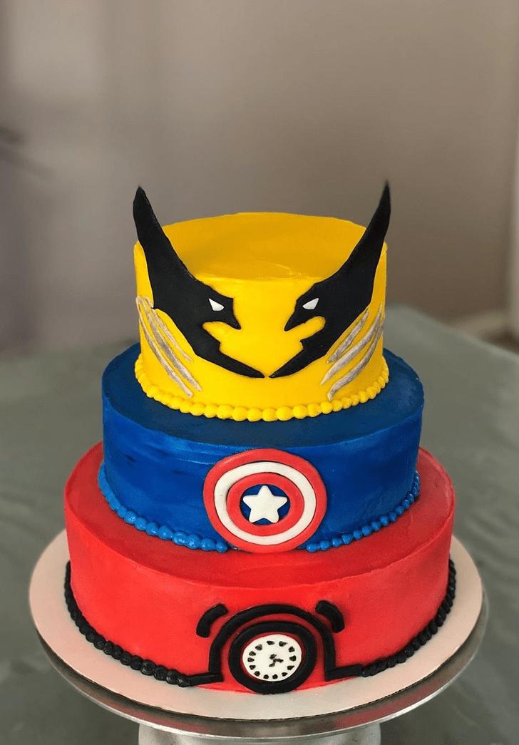 Alluring Wolverine Cake