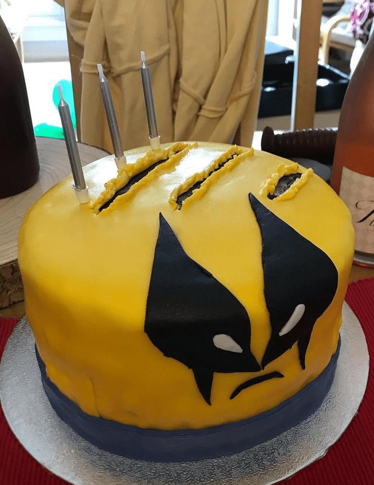 Appealing Wolverine Cake