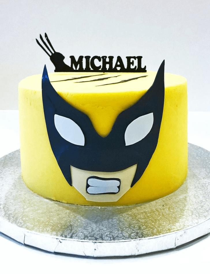Bewitching Wolverine Cake