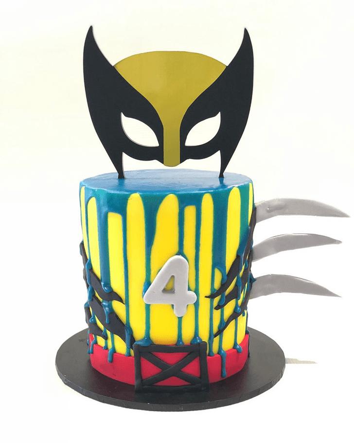 Charming Wolverine Cake