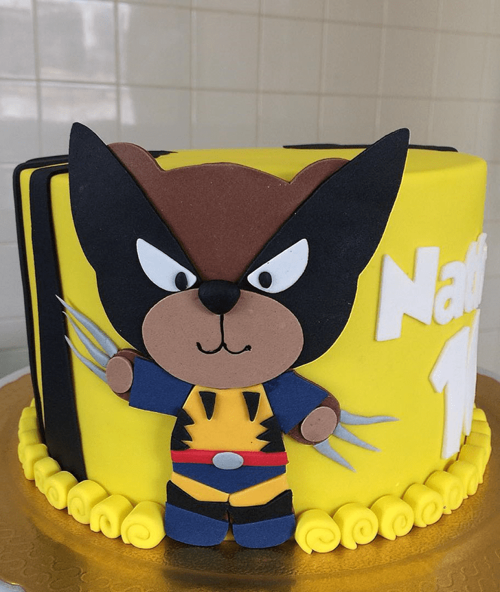 Classy Wolverine Cake