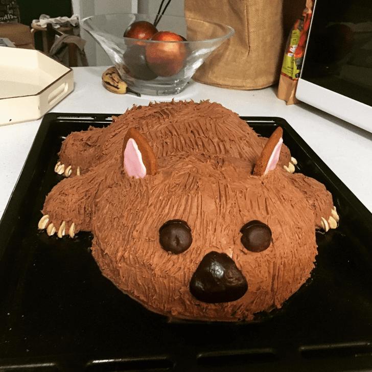 Alluring Wombat Cake