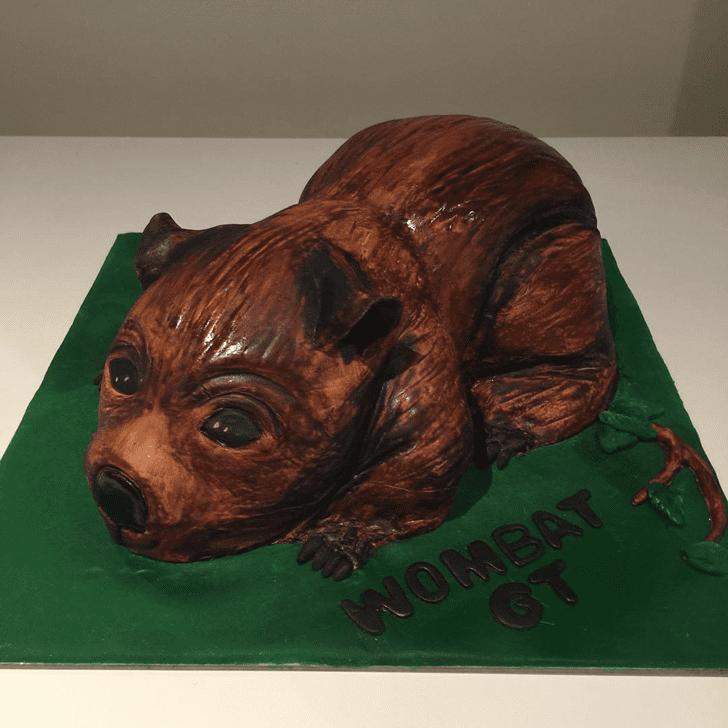 Appealing Wombat Cake