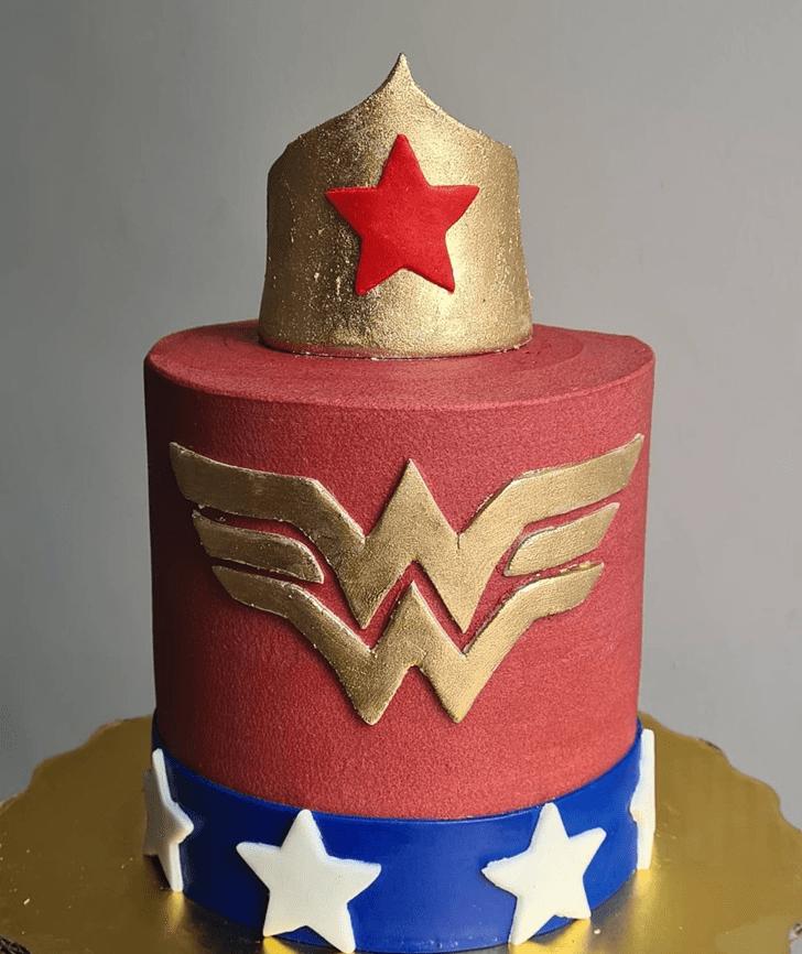 Bewitching Wonder Woman Cake