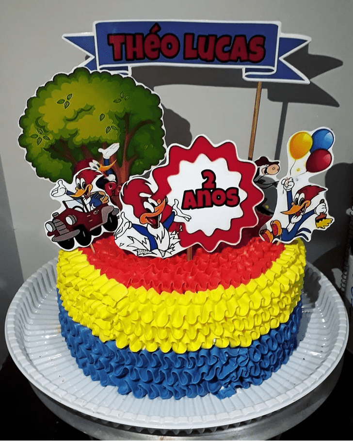 Appealing Woodpecker Cake