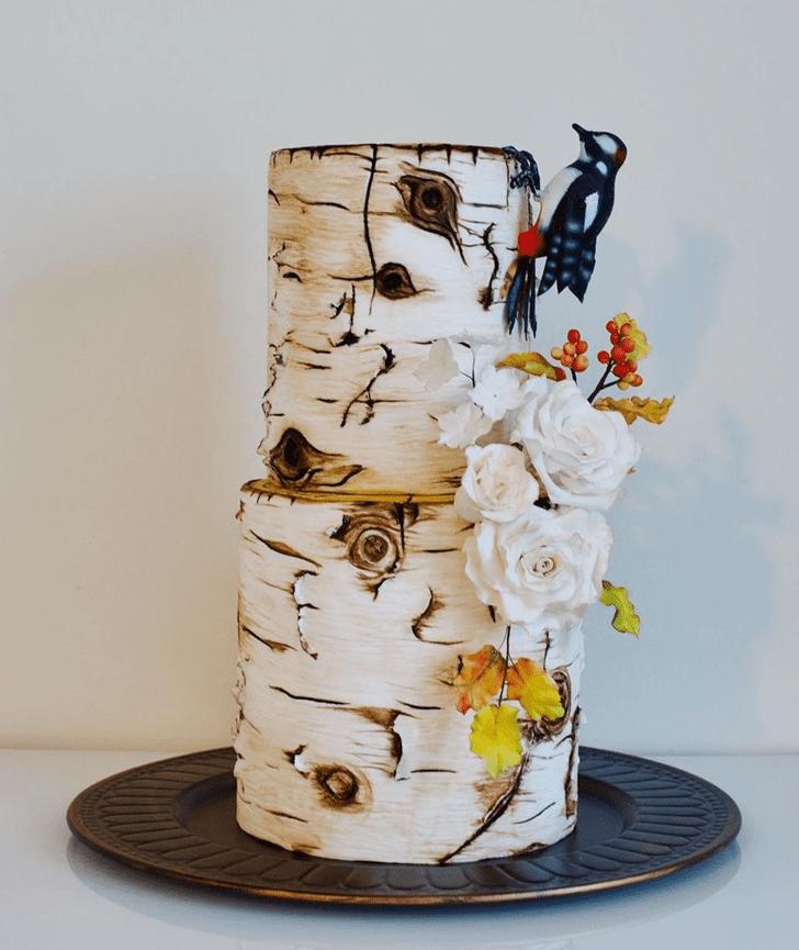 Classy Woodpecker Cake