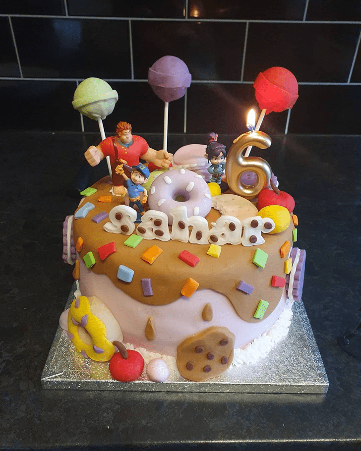 Adorable Wreck-It Ralph Cake