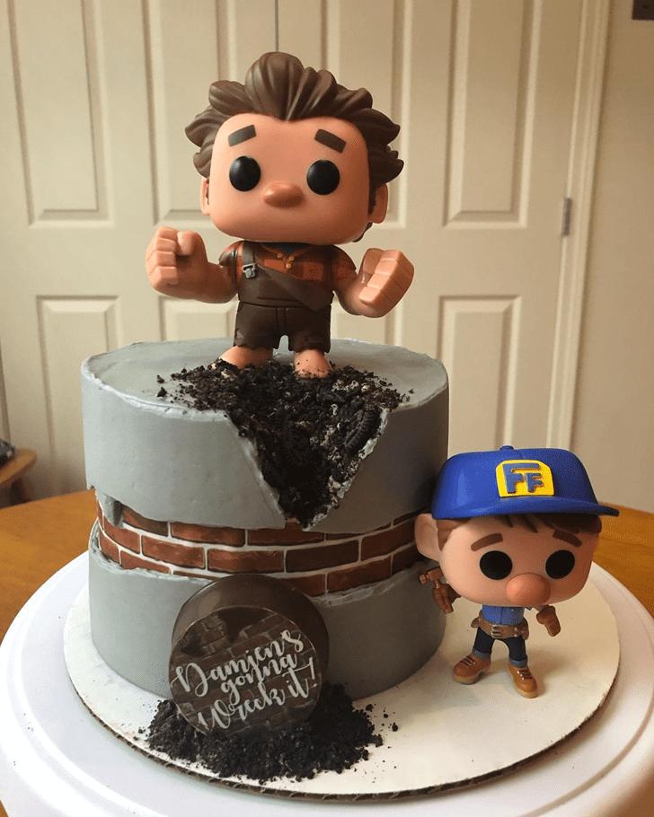 Alluring Wreck-It Ralph Cake