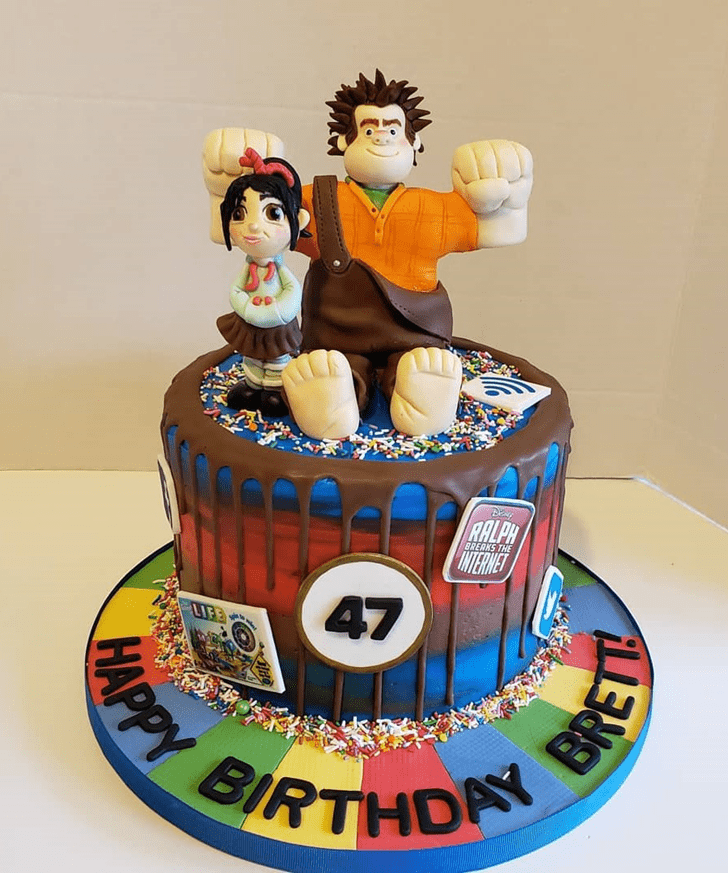 Angelic Wreck-It Ralph Cake