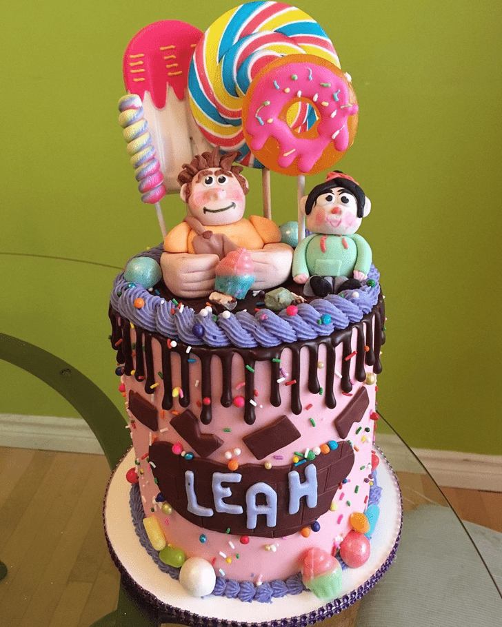 Appealing Wreck-It Ralph Cake
