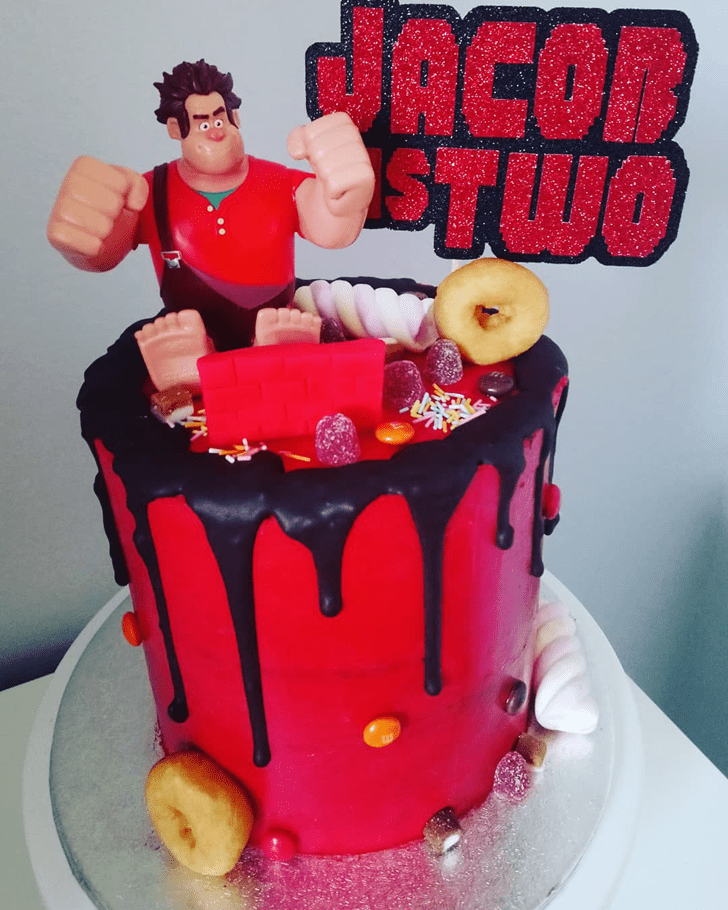 Bewitching Wreck-It Ralph Cake