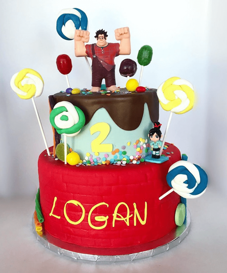 Captivating Wreck-It Ralph Cake