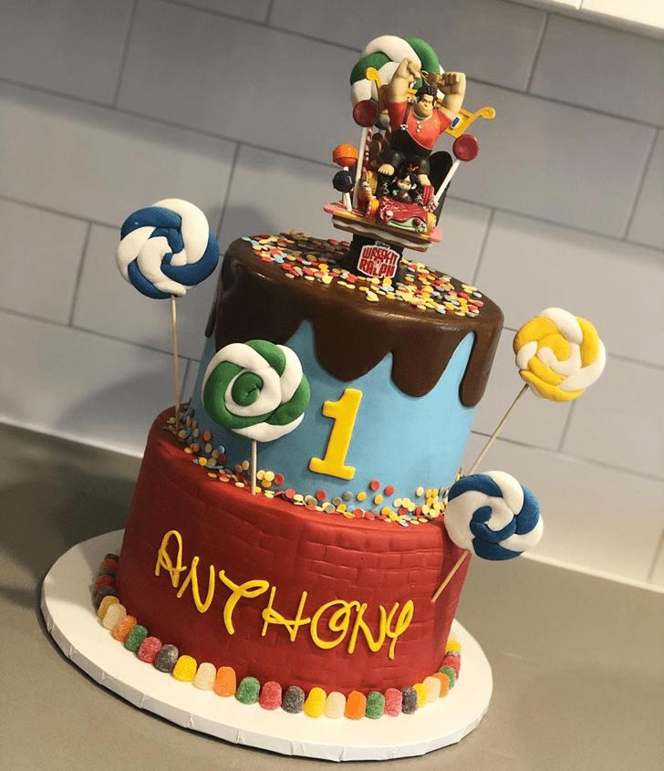 Charming Wreck-It Ralph Cake