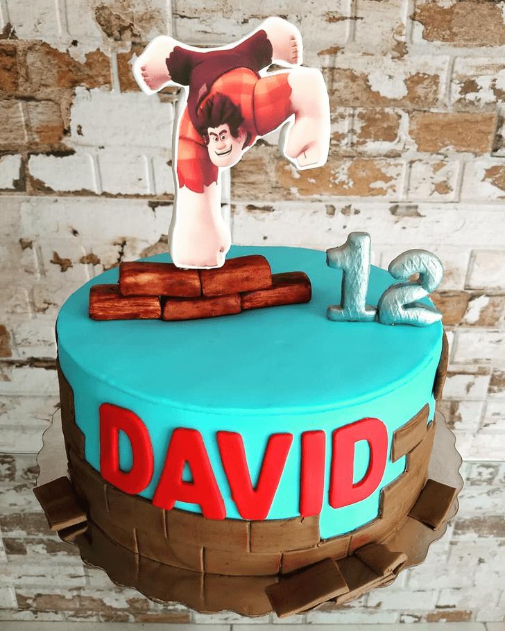 Divine Wreck-It Ralph Cake