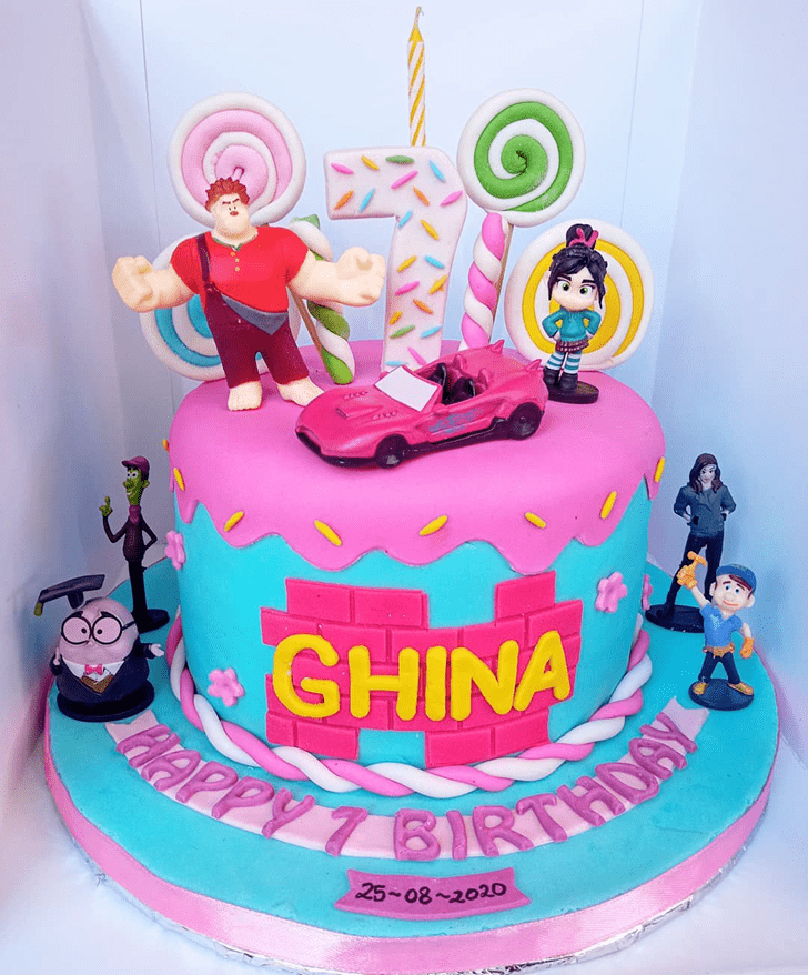 Enticing Wreck-It Ralph Cake