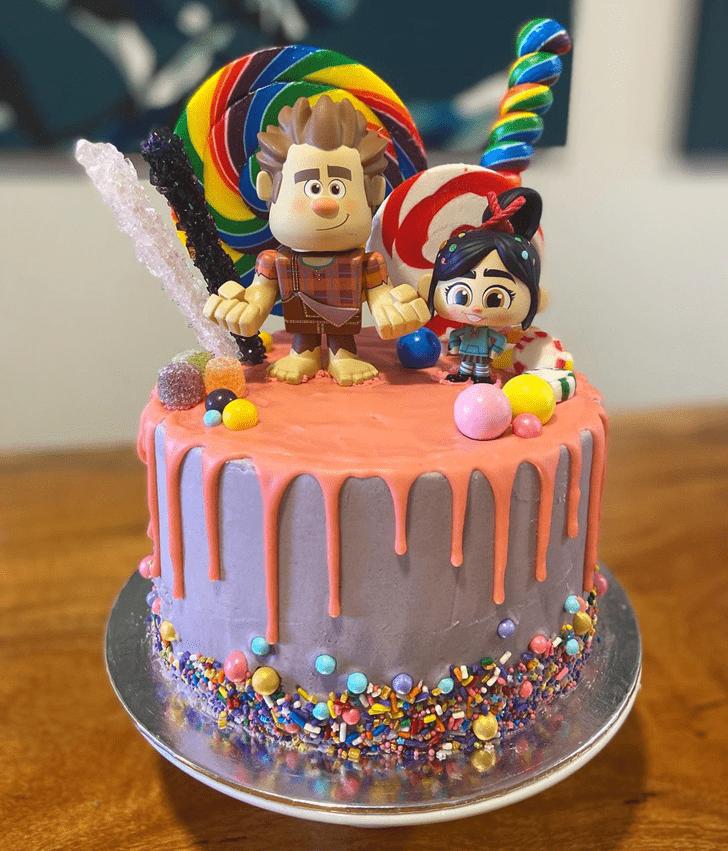 Good Looking Wreck-It Ralph Cake