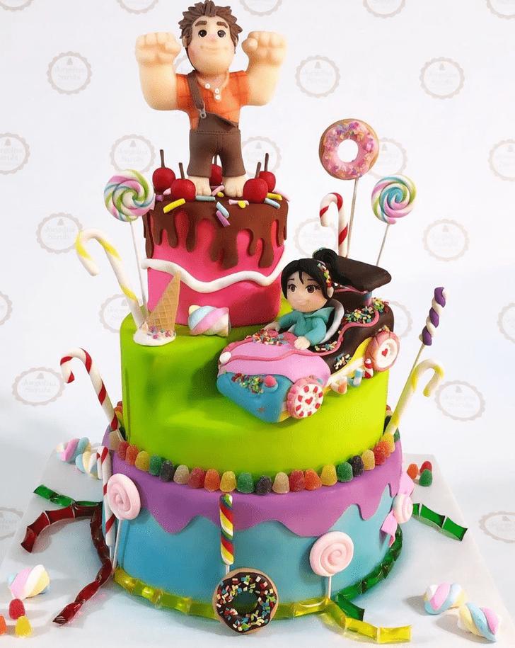 Gorgeous Wreck-It Ralph Cake