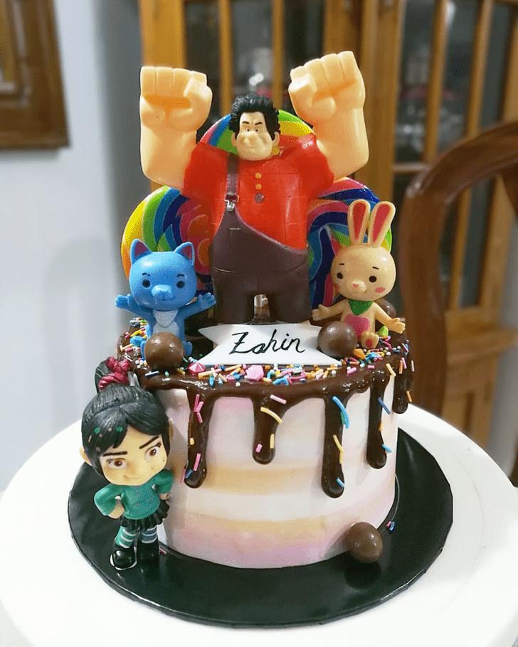Lovely Wreck-It Ralph Cake Design