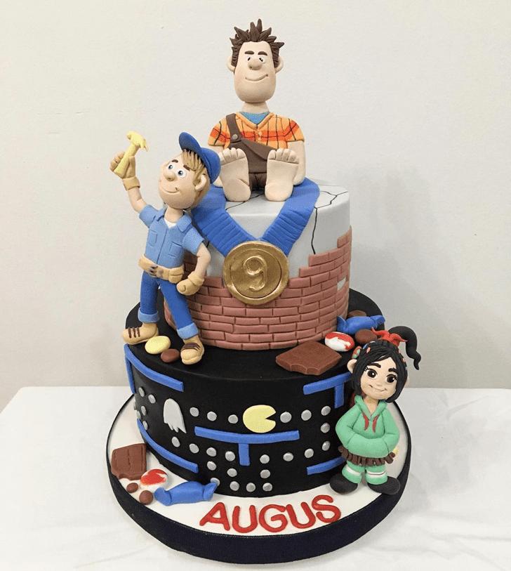 Pleasing Wreck-It Ralph Cake