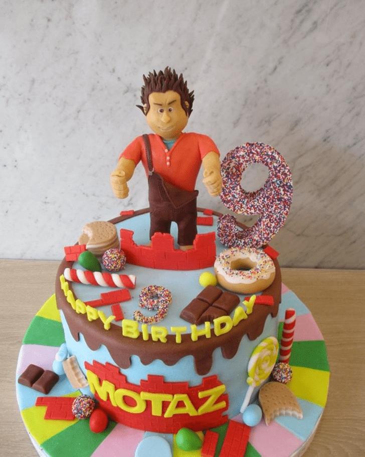Pretty Wreck-It Ralph Cake