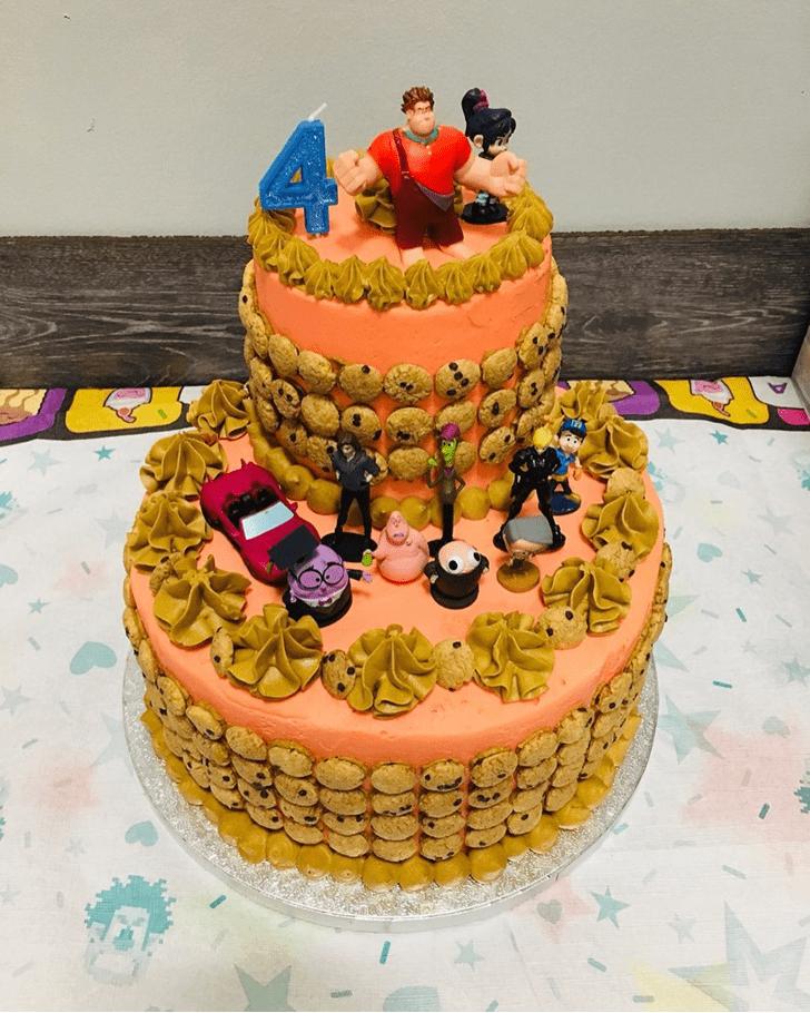 Splendid Wreck-It Ralph Cake