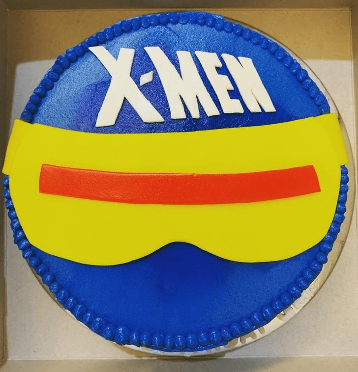 Admirable X-Men Cake Design
