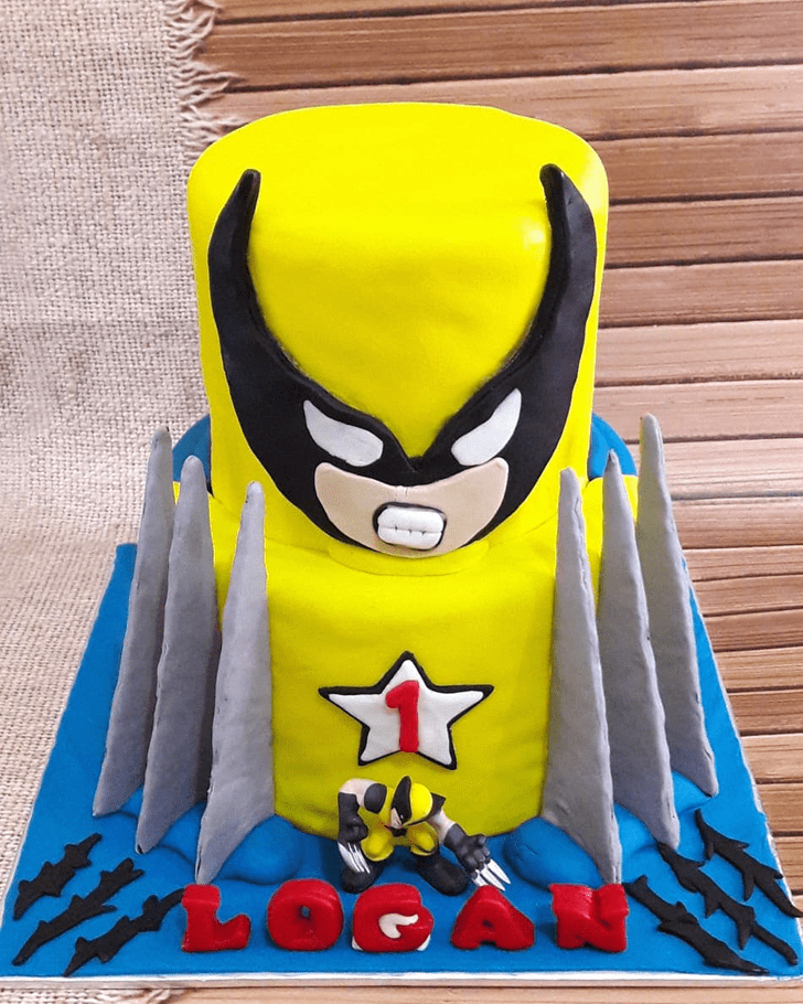 Appealing X-Men Cake