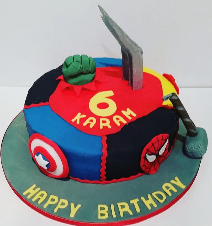 Bewitching X-Men Cake