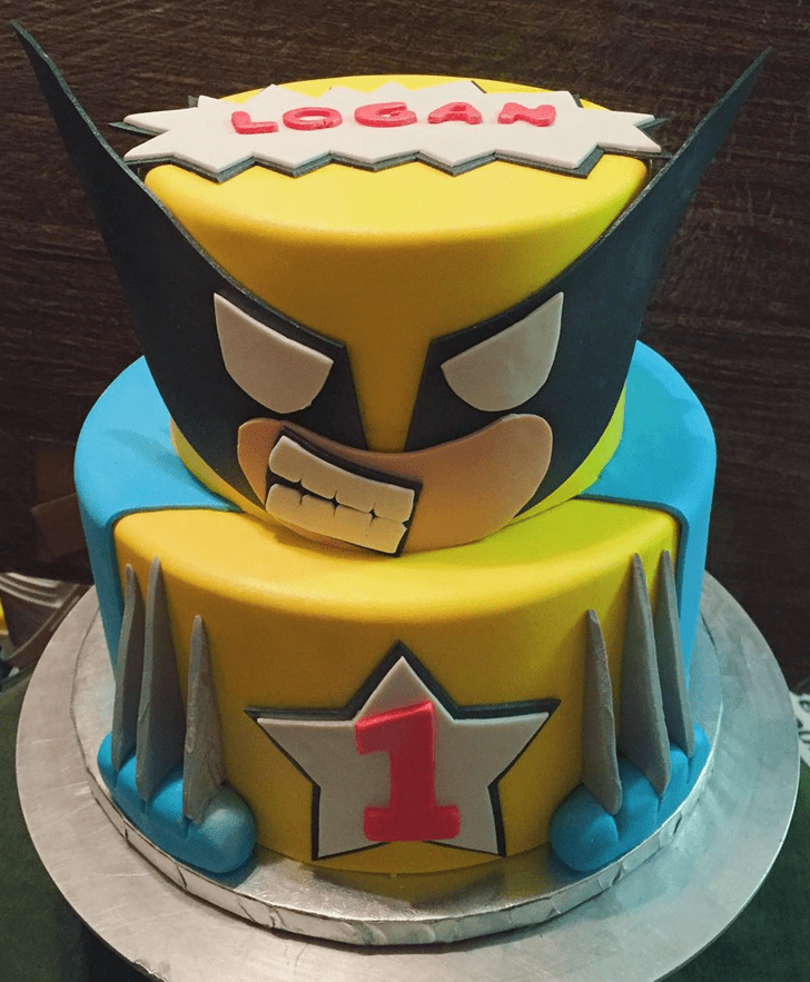 Captivating X-Men Cake