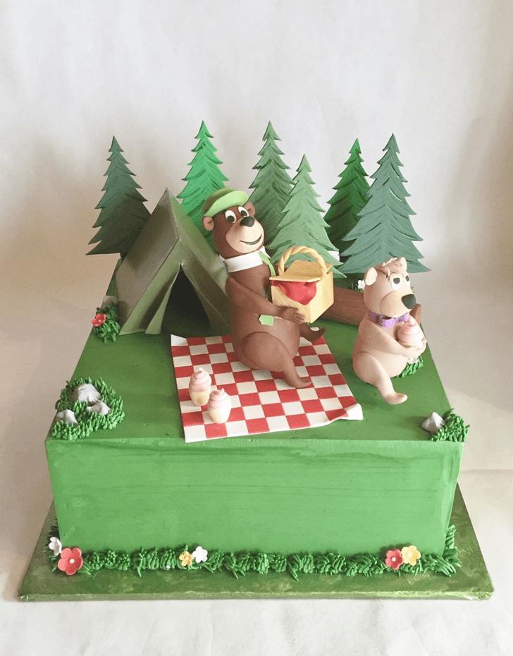 Alluring Yogi Bear Cake