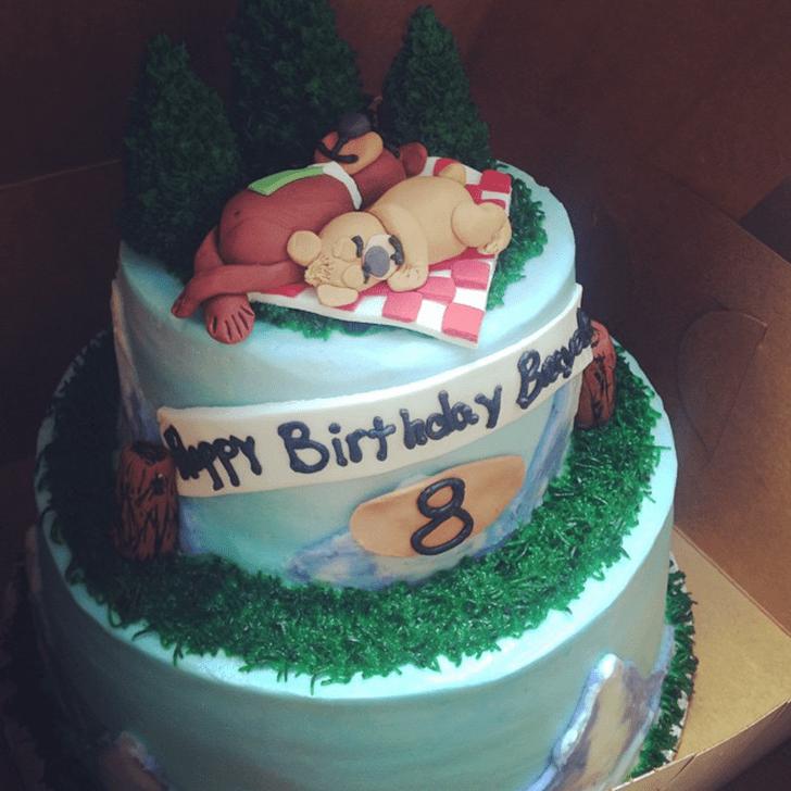Charming Yogi Bear Cake