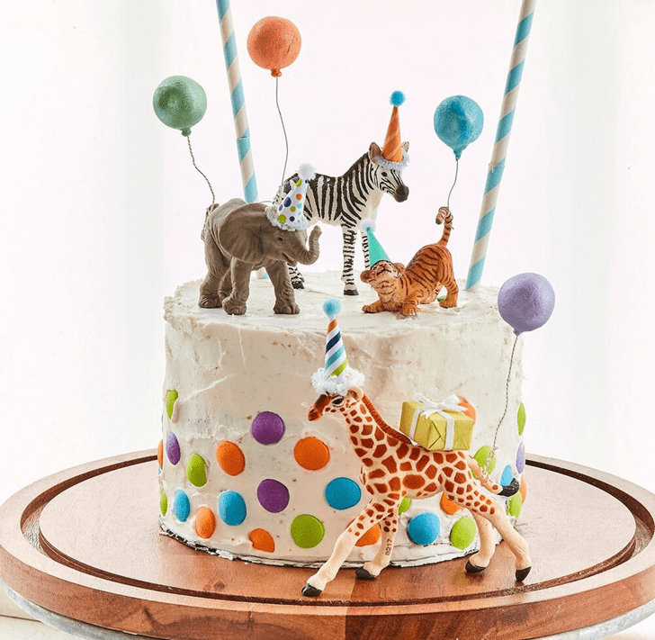 Appealing Zebra Cake